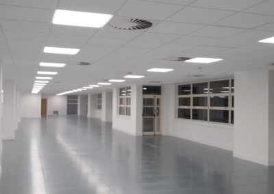 LED panel lights office areas